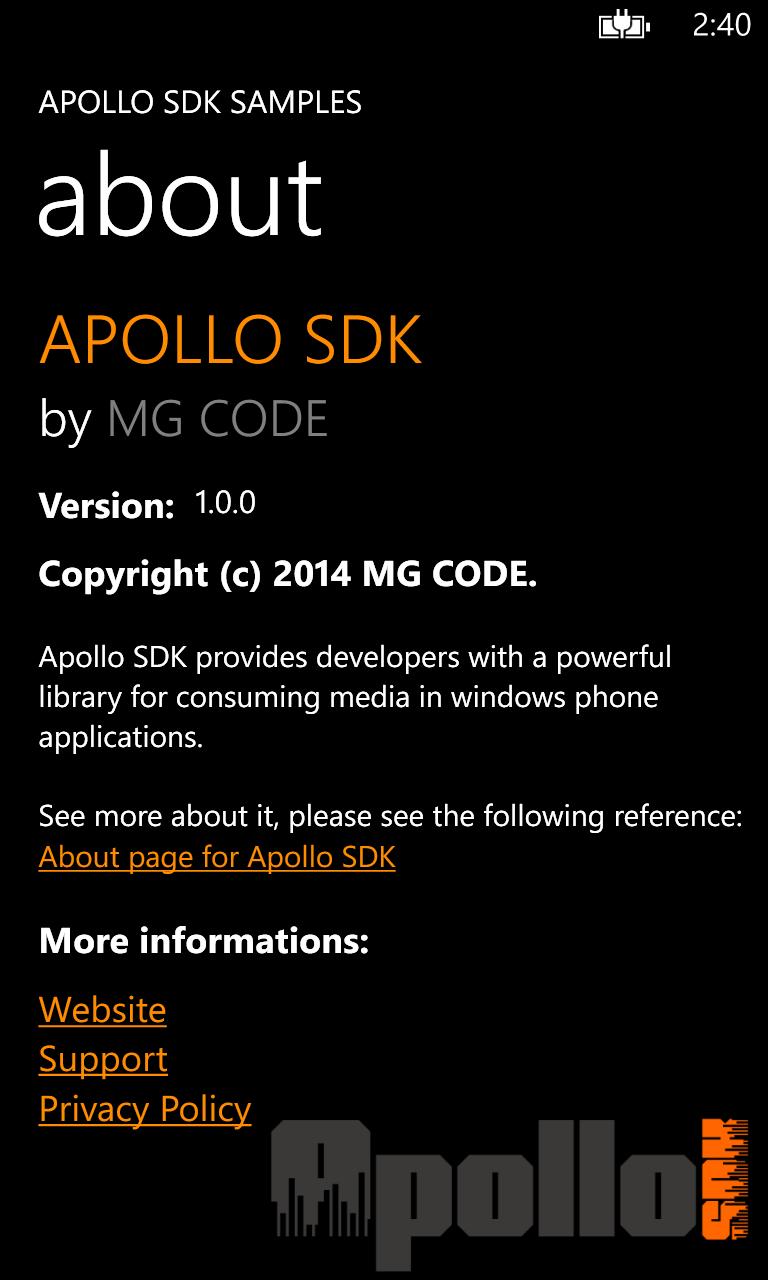 Apollo SDK - SHOUTcast & Audio Streaming SDK for Windows